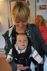 Jenny tillsammans med sin Hannes
